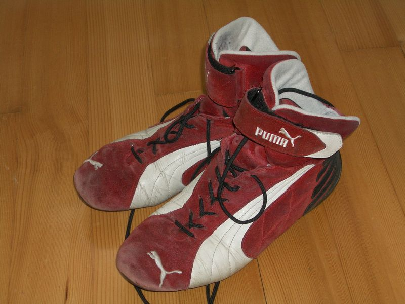 Puma F1 style booties