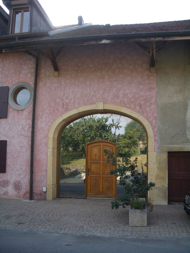 Mirror barn door