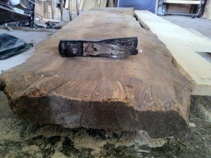 Larch plank