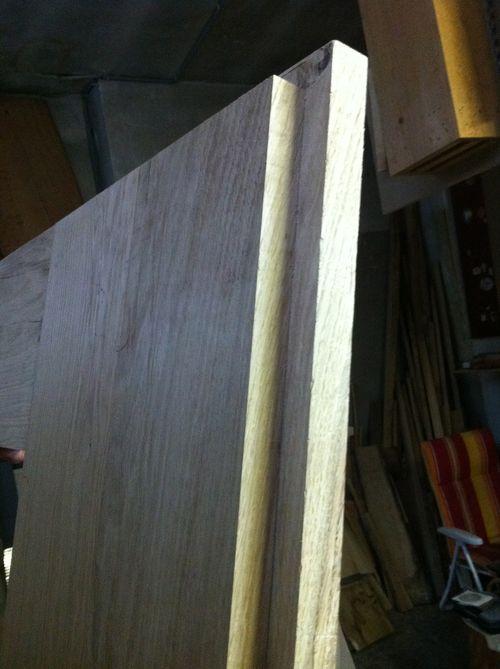 Edging a door