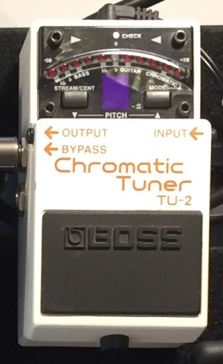 Boss Chromatic Tuner TU-2