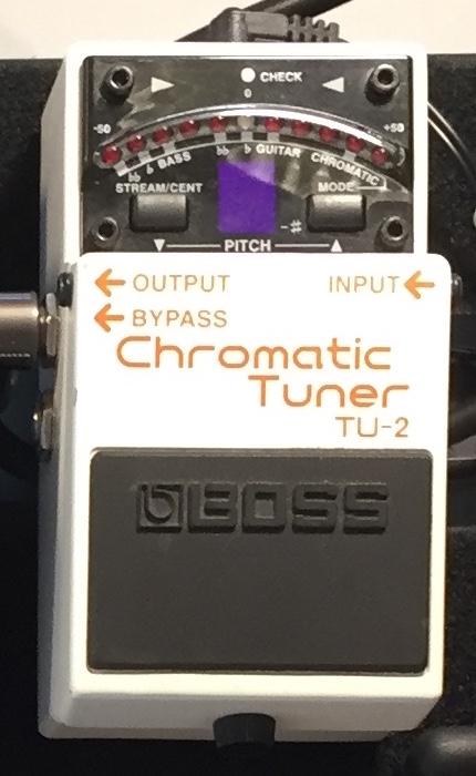 Boss Chromatic Tuner TU-2